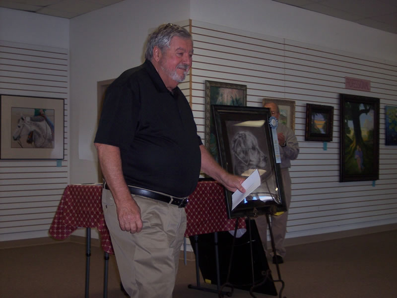 2019 Palm Sunday Art Show Judge Wayne Doornbosch