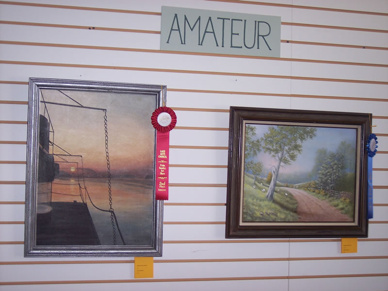 2nd Place Amateur Karen Wacker MO River Sunset 1st Place Amateur Willis Charles English Countryside