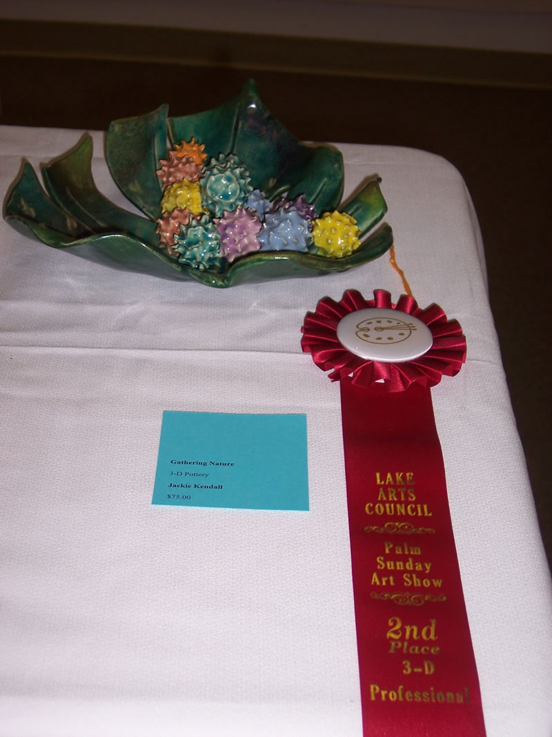 2nd Place Professional 3-D Jackie Kendall Gathering Nature