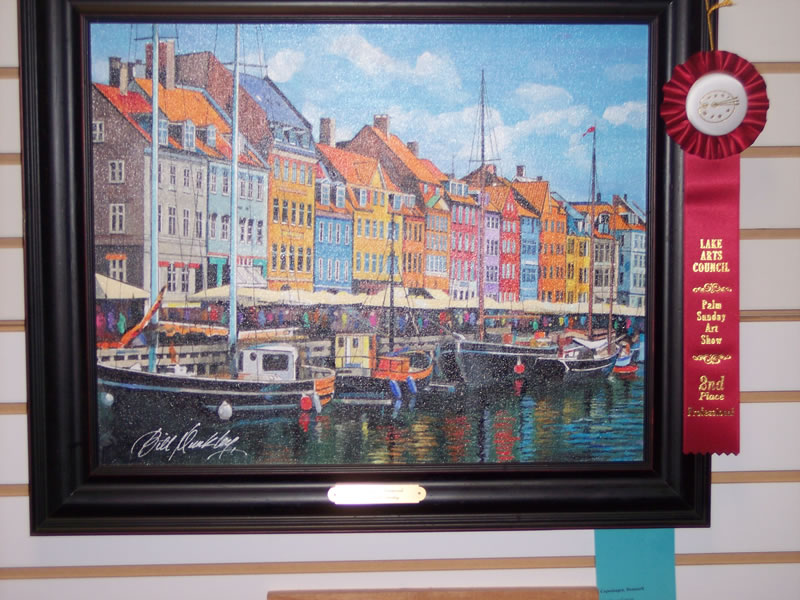 2nd Place Professional Bill Dunkley Copenhagen, Denmark